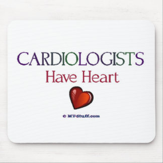 Cardiologists Have Heart Mouse Pad
