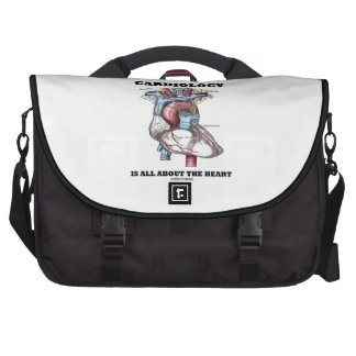 Cardiology Is All About The Heart (Anatomical) Computer Bag