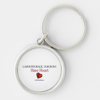 Cardiothoracic Surgeons Have Heart Key Ring