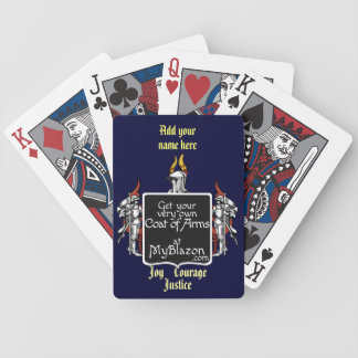 Cards adorned with your very own coat of arms