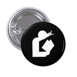 """Cards Against Librarianship"" Logo Button"