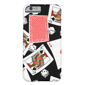 Cards & dice barely there iPhone 6 case