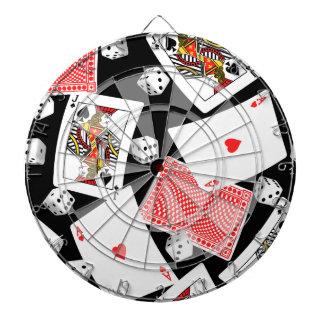Cards & dice dartboard