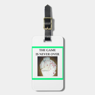 CARDS LUGGAGE TAG