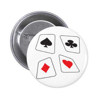 Cards Pinback Buttons