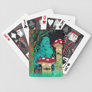 Cards with the Caterpillar Bicycle Deck