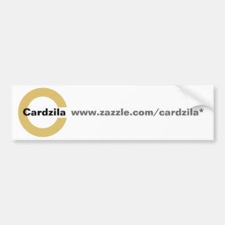 Cardzila Logo Template Bumper Sticker