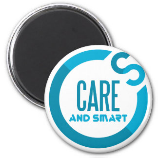 care and smart 6 cm round magnet