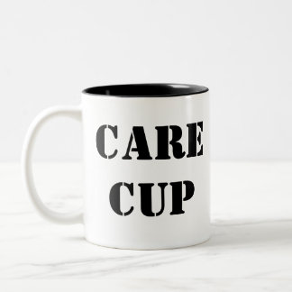 Care Cup Two-Tone Mug