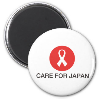 CARE FOR JAPAN MAGNET
