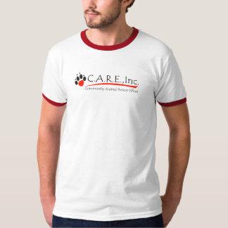 CARE logo ringer t-shirt
