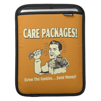 Care Packages: Screw Cookies Send $ Sleeves For iPads
