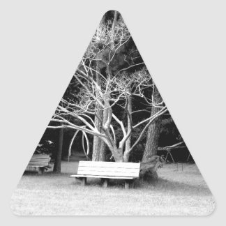 Care to Join Me? Triangle Sticker