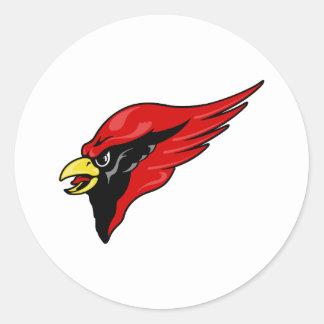 Careem Cardinal Round Sticker