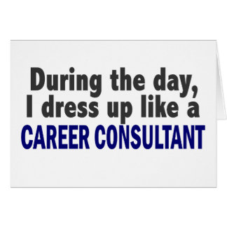 Career Consultant During The Day Cards