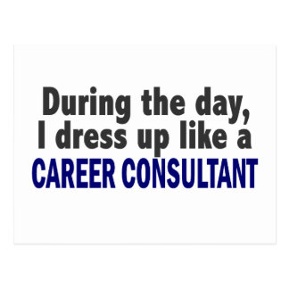 Career Consultant During The Day Postcard