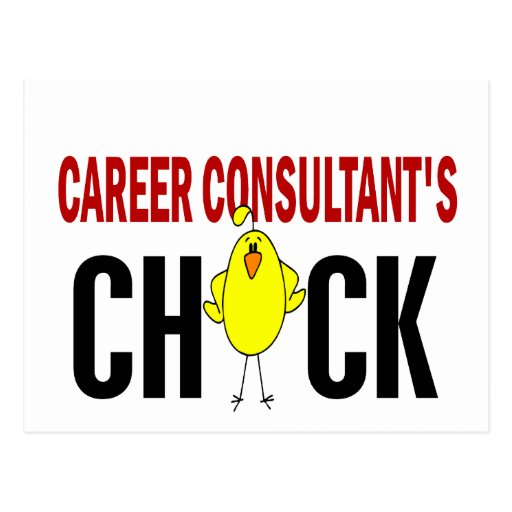 Career Consultant's Chick Post Card