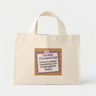 Career Counseling Tote Bags