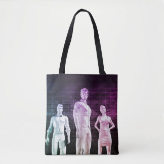 Career Development and Marketable Skills Tote Bag