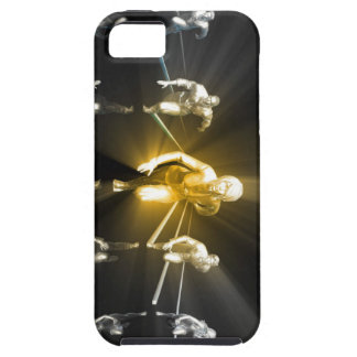 Career Development with a Business Team Tough iPhone 5 Case