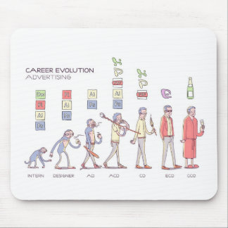 Career Evolution Mousepad