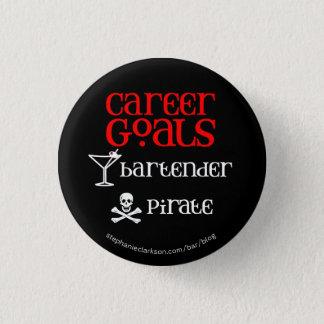 Career Goals 3 Cm Round Badge