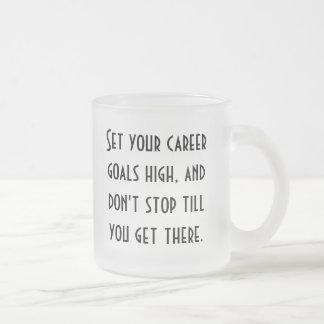 Career Goals Mug