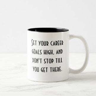 Career Goals Coffee Mug