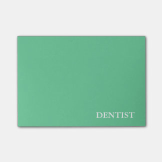 Career Series-Dentist Post-it® Notes