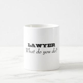 Career Series Mugs-Lawyer Magic Mug