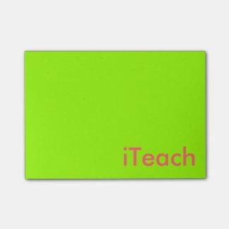 Career Series-Teachers Post-it Notes