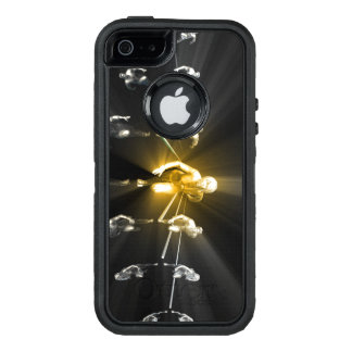 Career Woman Development with a Business Team OtterBox Defender iPhone Case