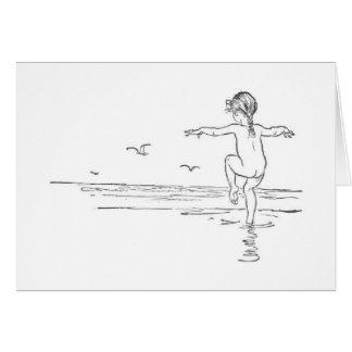 Carefree Summer (Blank Inside) Card