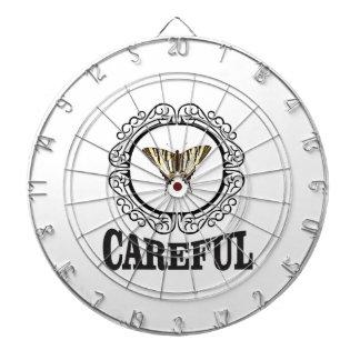 careful circle dartboard