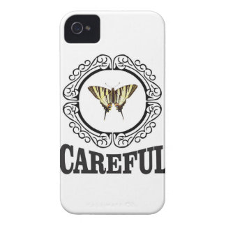 careful circle iPhone 4 case