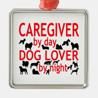Caregiver Dog Lover Metal Ornament