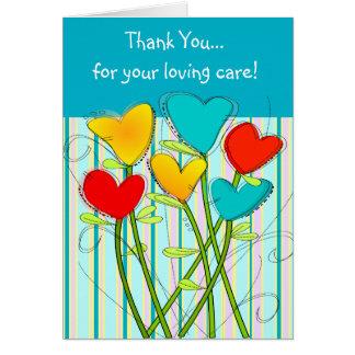 Caregiver Thank You Card II