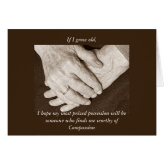 Caregiver Thank You for a male Greeting Card
