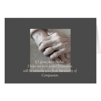 caregiver Thank You for female Greeting Card