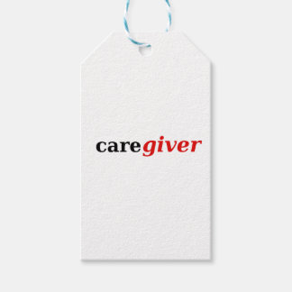 Caregivers are the best! gift tags