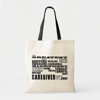 Caregivers : Greatest Caregiver Budget Tote Bag