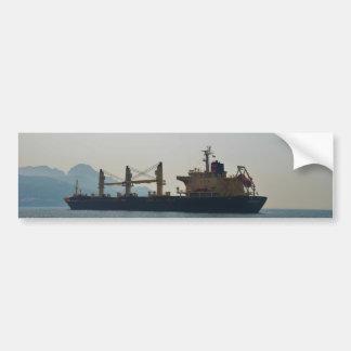 Cargo Ship Andermatt Bumper Sticker