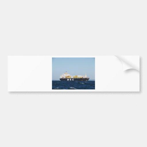 Cargo Ship Giovanna Bumper Stickers