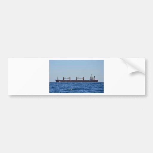 Cargo Ship Pelagos Bumper Sticker