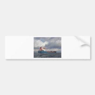 Cargo Ship Suat Karabekir Bumper Sticker
