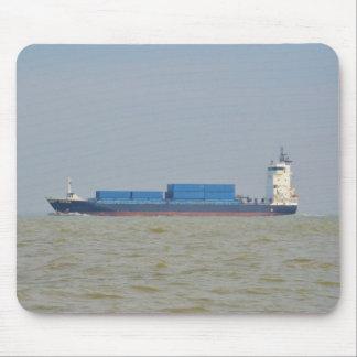 Cargo Ship Vantage Mouse Pad
