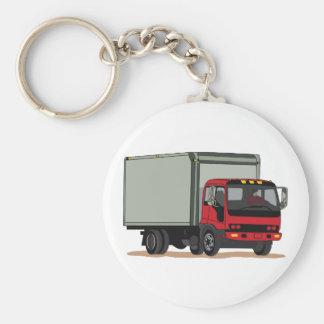 Cargo Truck Key Ring