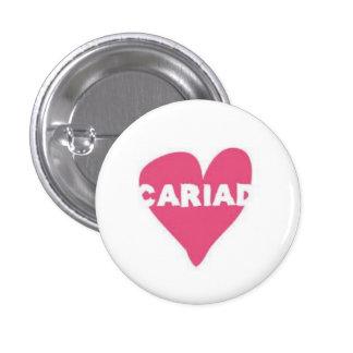Cariad Button Badge