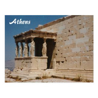 Cariatides - Athens Postcard