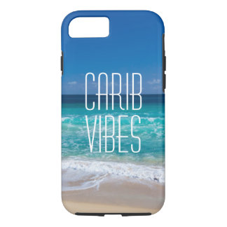 Carib Vibes Tropical Beach Turquoise Water iPhone 8/7 Case